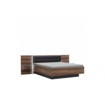 Łóżko + szafki nocne BLQL161B Bellevue