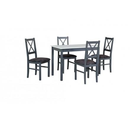 Stół MAX 2 + 4x Nilo 10