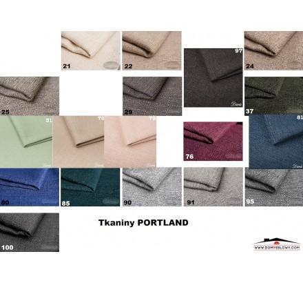 Portland tkaniny całość