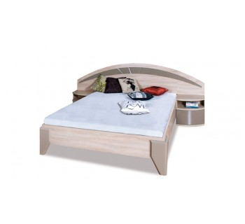 Łóżko DL2-1 Dome z szafkami nocnymi