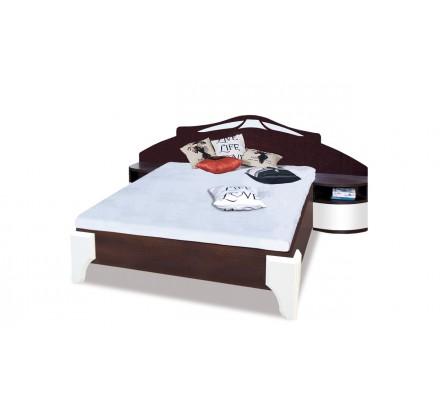 Łóżko DL1-4 Dome z szafkami nocnymi