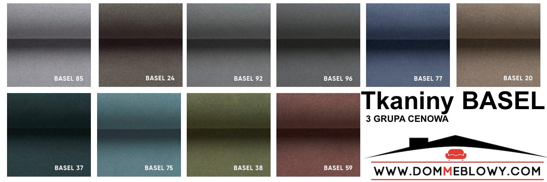 Tkaniny Basel marki Davis dla mebli tapicerowanych producenta Meblosoft