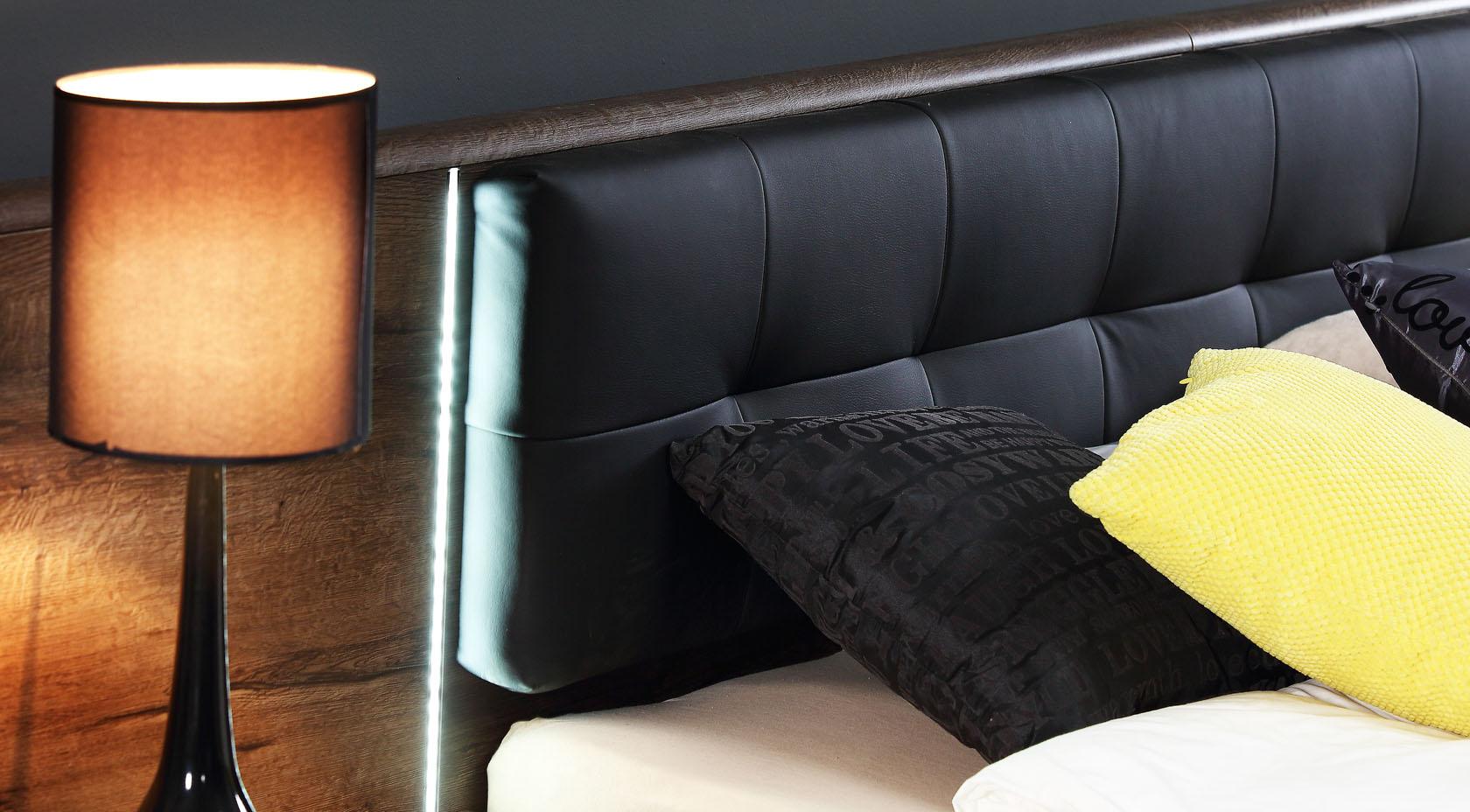 Meble systemowe do sypialni Bellevue marki Forte szczegóły
