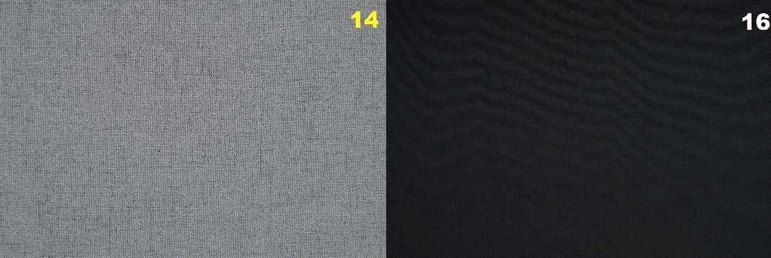 Narożnik Paris tkaniny Cablo 14 / Cablo 16 producenta Mebli wypoczynkowych Meblosoft