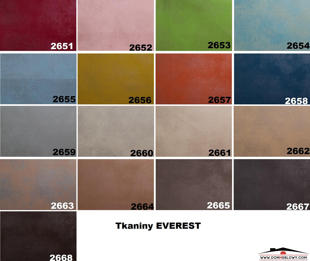 Tkaniny Everest z technologią Cleanaboo dla mebli tapicerowanych producenta Meblosoft