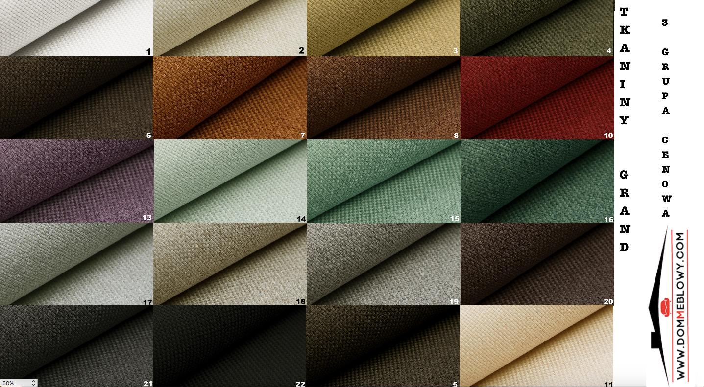 Tkaniny GRAND marki Lech Fabrics dla mebli tapicerowanych Meblosoft