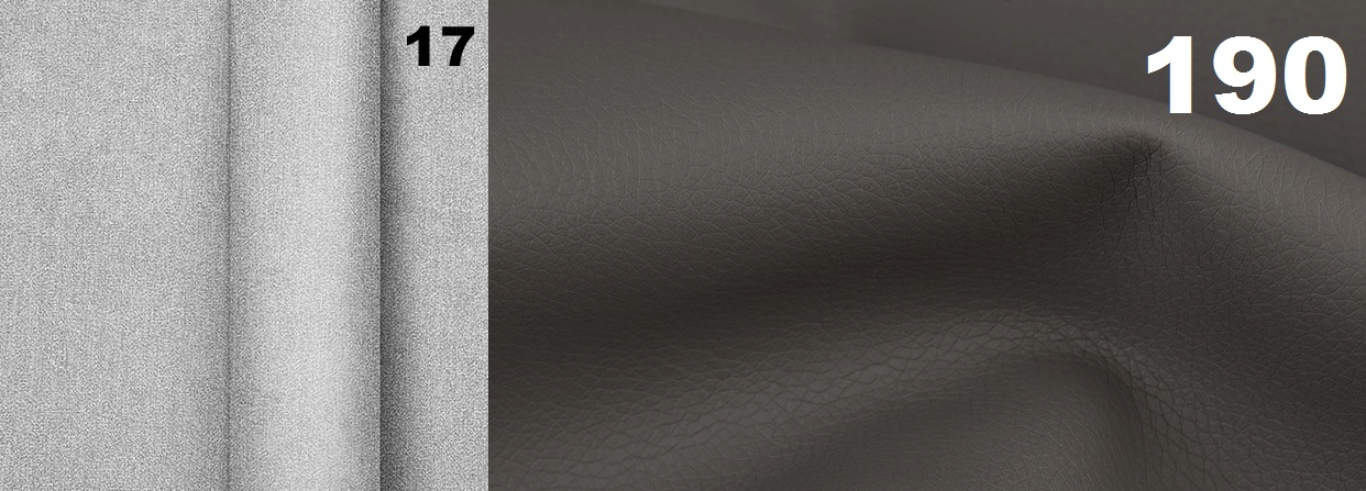 Narożnik Viena tkanina Power 17 / Madryt 190