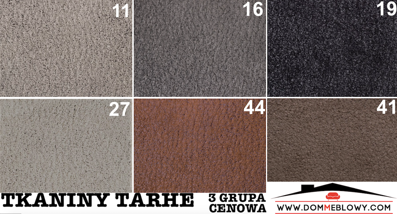 Tkaniny Tarhe marki FABB dla mebli tapicerowanych producenta Meblosoft