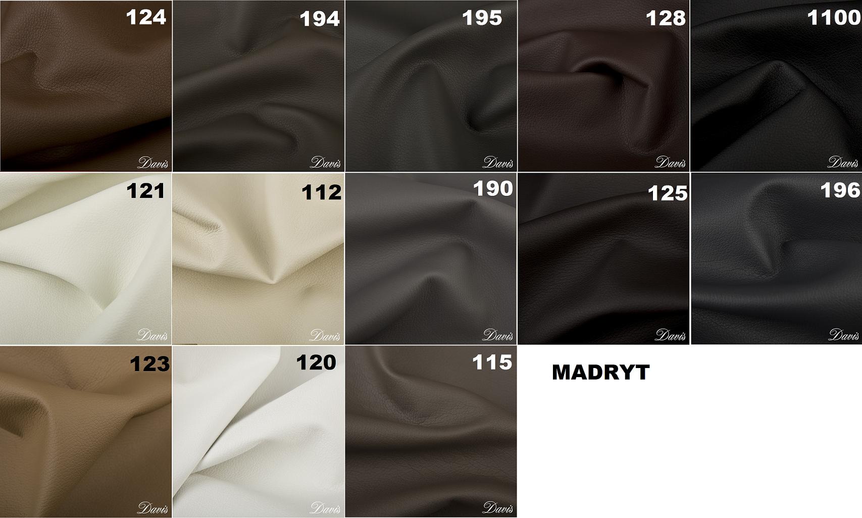 Łóżko tapicerowane Tango Meblosoft tkanina Madryt
