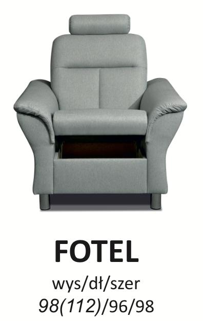 Fotel toronto meblosoft