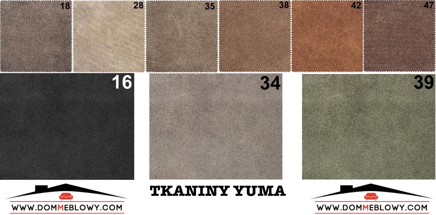 Tkaniny Yuma dla mebli tapicerowanych producenta Meblosoft