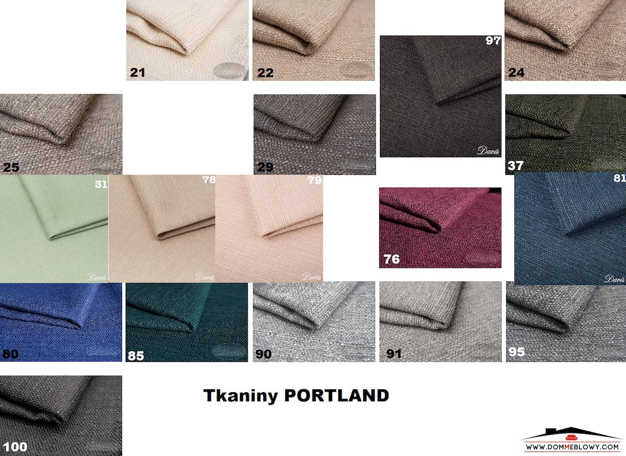 Tkaniny Portland dla mebli tapicerowanych producenta Meblosoft
